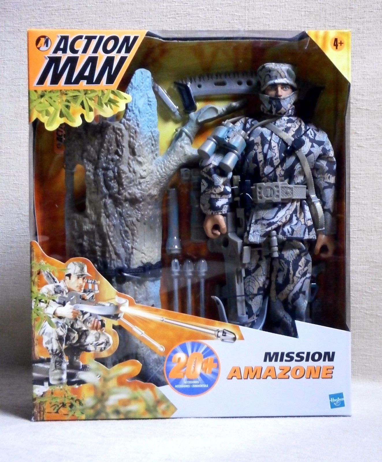 ACTION MAN   MISSION AMAZONE   MISB HASBRO 2000 New in sealed box Vintage