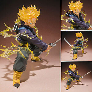 15cm Dragon Ball Z Super Saiyan Trunks Anime Figurine Figure DBZ Collection Toy