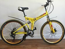 "26"" Mountain Folding bicycle With shimano 21 Speed And Disc Brakes"