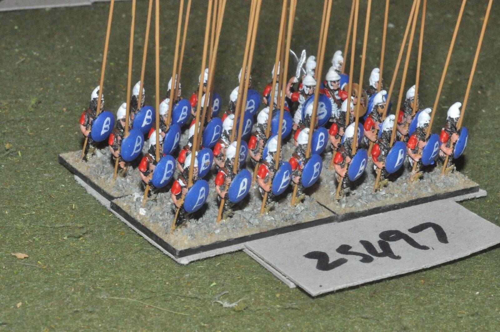 15mm classical   macedonian - xyston pikemen 32 figures - inf (25497)