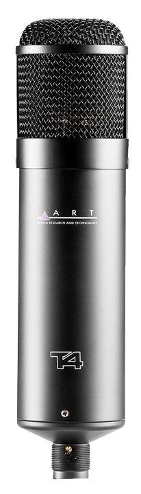 ART T4 Large Diaphragm Multi-Pattern Condenser Tube Studio Mic