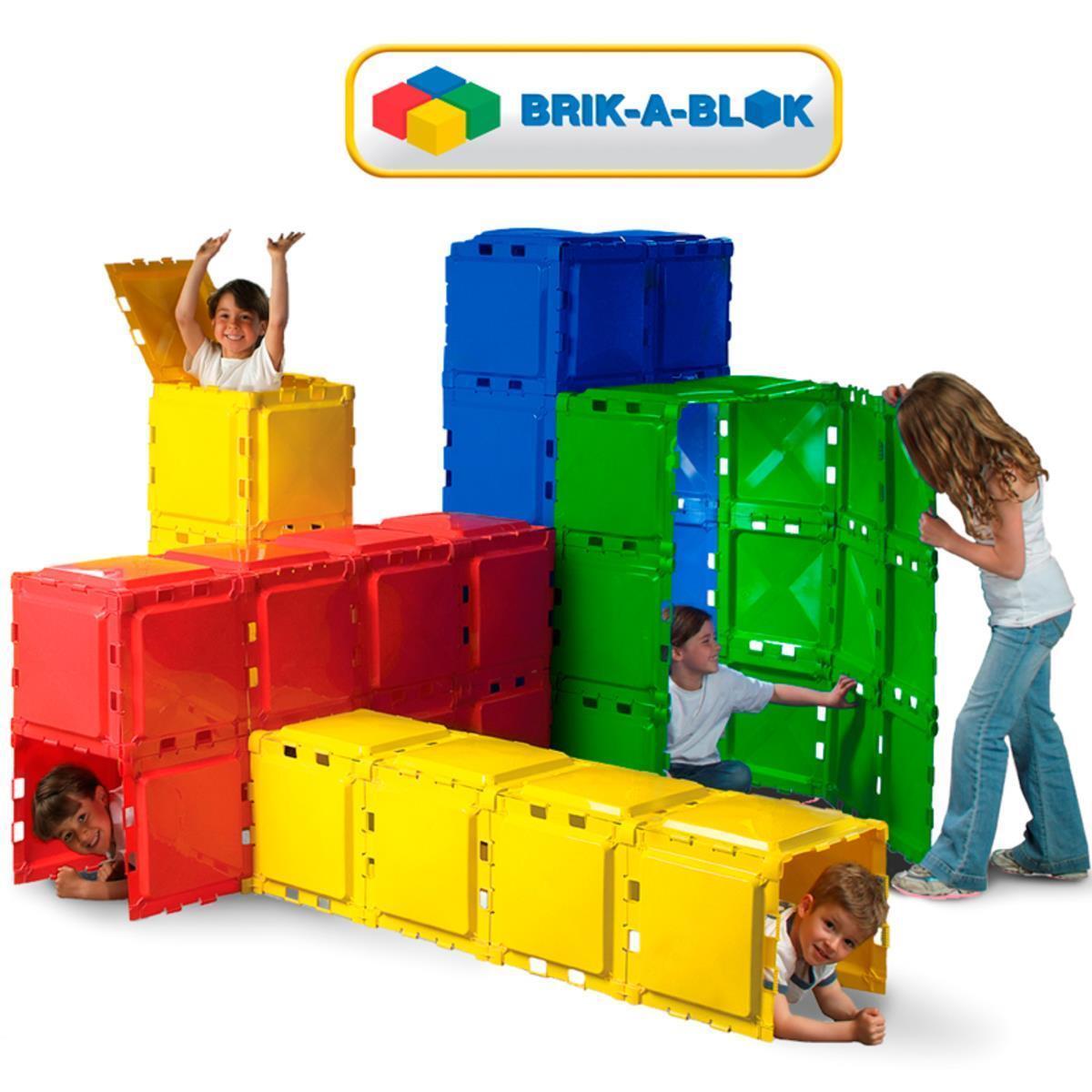 Brik-A-Blok& X2122; 60 Panel Construction Play Set (5-14 Years)