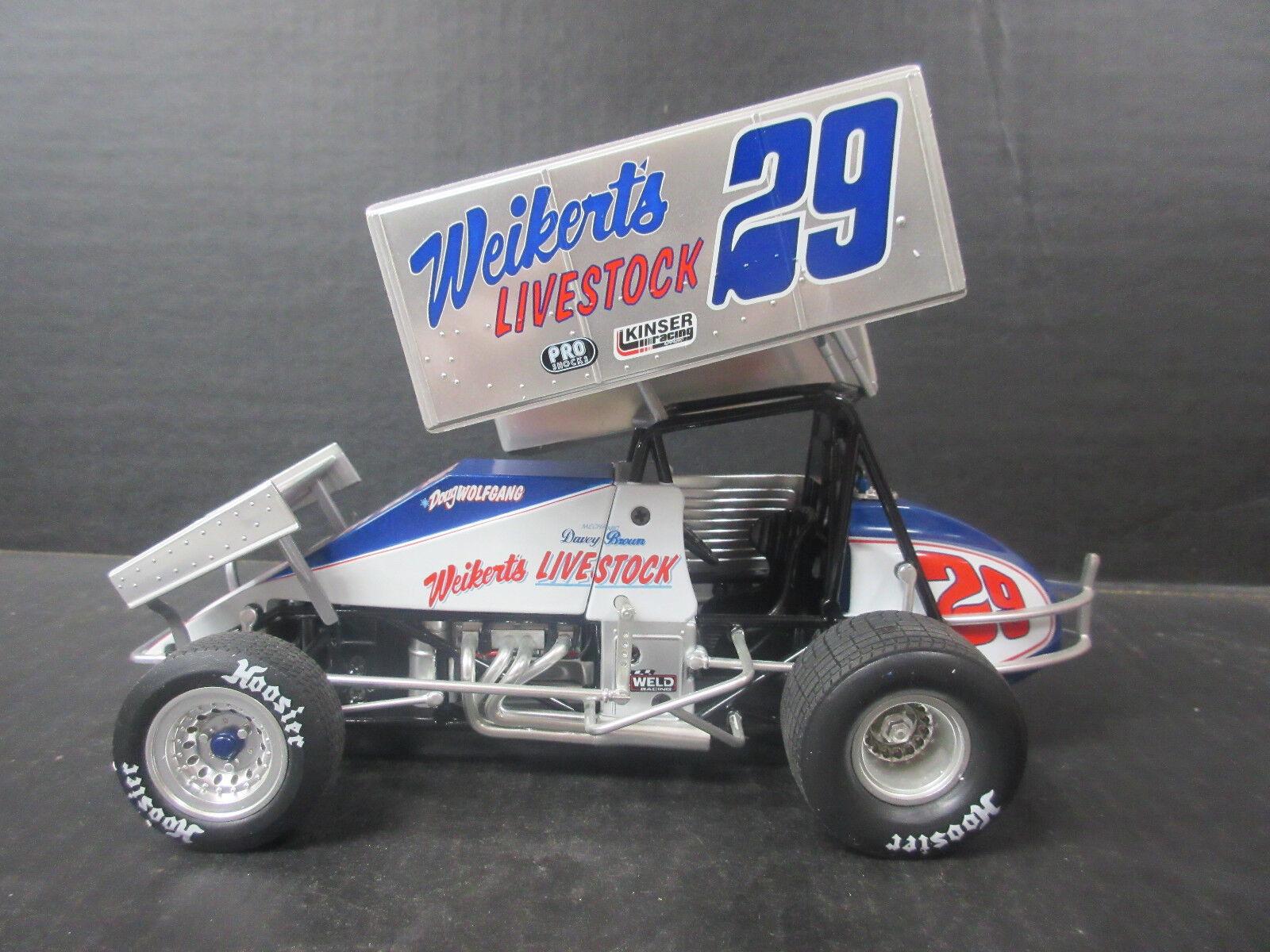GMP Doug Wolfgang Weikert's 1 18th coche escala Sprint
