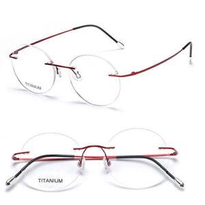 d2b2e237c75 Image is loading New-Vintage-Oval-Optic-Glasses-Lightweight-Titanium -Flexible-