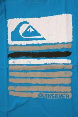 Quiksilver Boys M peintre bleu turquoise Graphique À Manches Courtes Tee T-Shirt