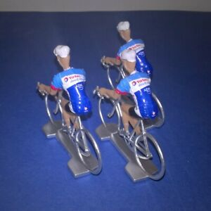 3-cyclistes-miniatures-Tour-de-france-Cycling-figure-Total-Direct-Energie-2019
