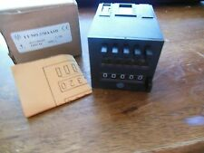 CAPP TIMER COUNTER 14199 SERIES CX200 120VAC 10A 10 AMP A NIB