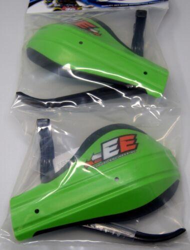 Enduro Engineering Composite Mount Moto Roost Deflector Handguards Green 53-229