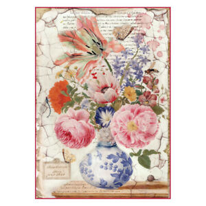 Rice Paper For Decoupage Stamperia DFS193L Women In Africa