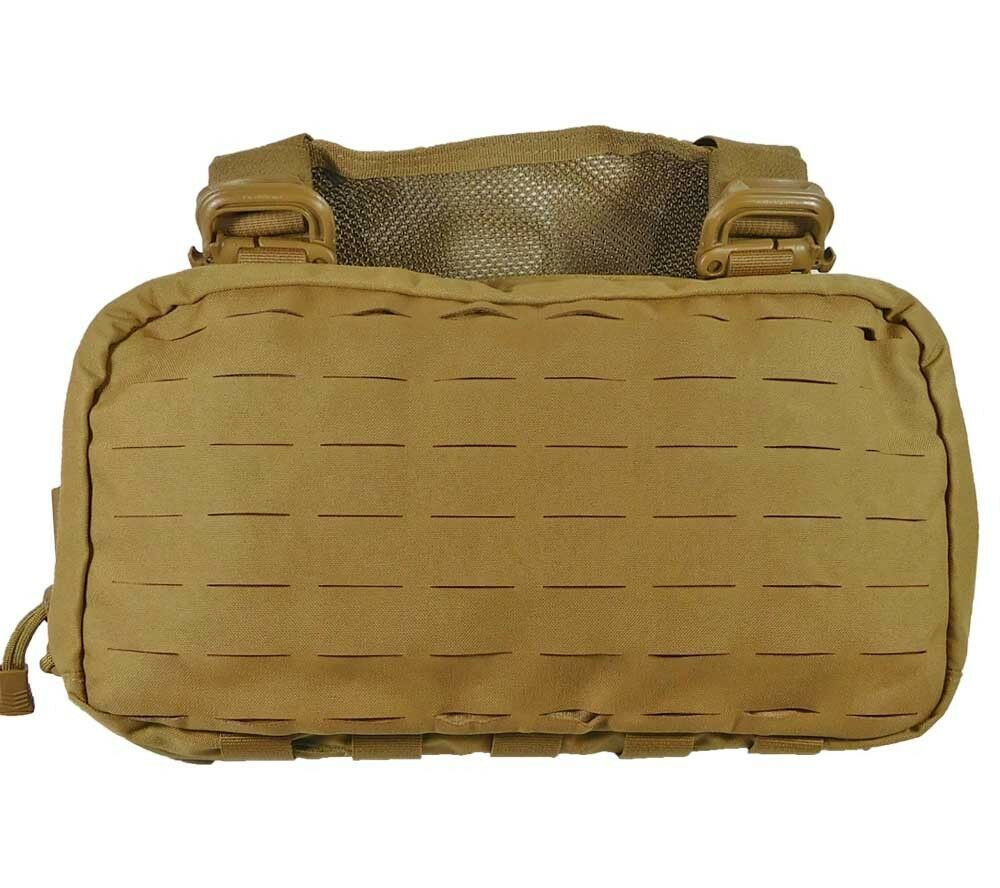 Hill personas Gear pesado Recon Kit De Bolsa Bolsa De Supervivencia Coyote Concealed Carry