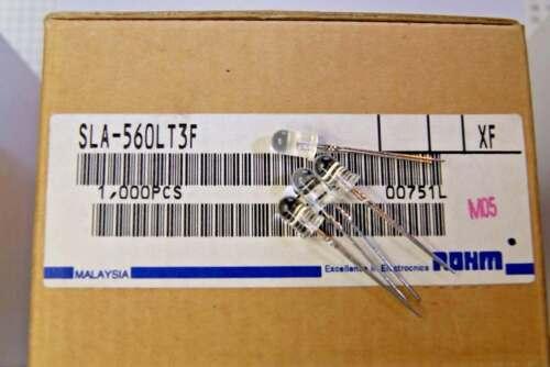 250pcs  diode LED 5mm SPECIAL RED  100mcd SLA560LT3F ROHM