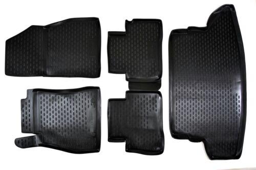 Kofferraumwanne SET für Nissan Juke 2010-2014 3D Design Gummimatten