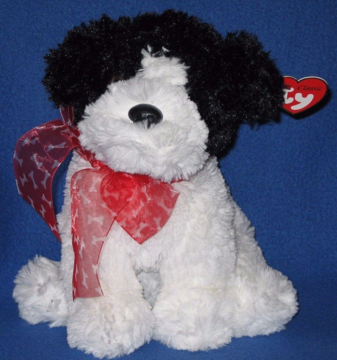 TY CLASSIC PLUSH - BRINKSIE the DOG - MINT with MINT TAGS