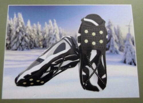 SNOW ICE GRIPS WITH METAL STUDS WALKING CHRISTMAS STOCKING FILLER HIKING
