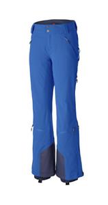 Women's Columbia Titanium Omni Heat Jump Off Cargo Ski Pants bluee NWT XL Omni