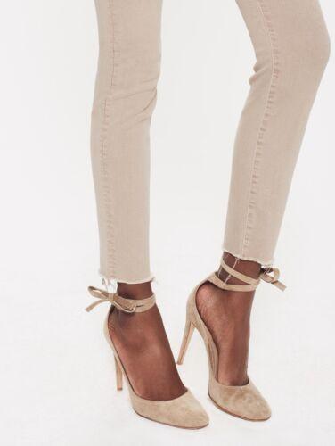 Khaki vita Mother a Nwt Fray beige Ankle 208 Look alta Denim d8dqawI