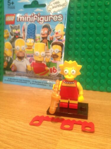 MINT CONDITION LEGO SERIES 1 SIMPSONS LISA