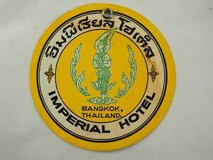 Imperial-Hotel-Bangkok-Thailandia-Etichetta-Bagaglio