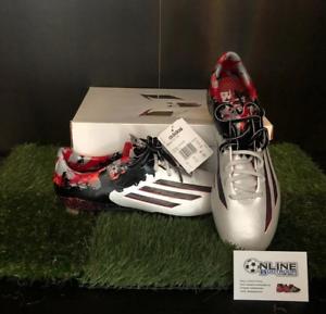 Adidas Messi Pibe De Barr 10.1 FG - White Granite Scarlett US 10, EU44