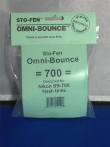 StoFen Omni-Bounce 700 Diffuser fits Nikon SB-700 Flash Units + Cleaning Clothe*