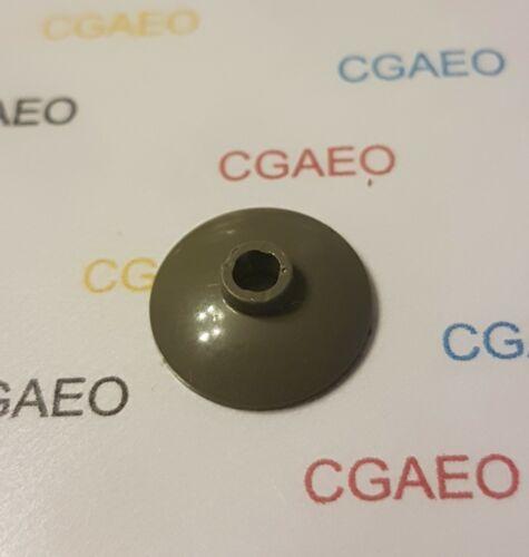 1 X  4740 Lego Dish 2 x 2 Inverted Radar Dark Gray