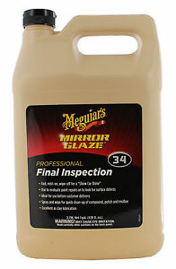 Meguiar's final inspection