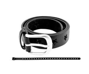 Filles Enfants Ceinture Astérisque Noir 65 cmfille ceinture
