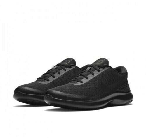 MEN/'S NIKE FLEX EXPERIENCE RN 7 4E WIDE SHOES black anthracite AA7405 002