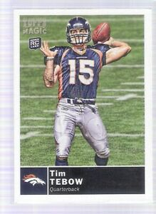 Details About 2010 Topps Magic Tim Tebow Rookie Card 25 Mint