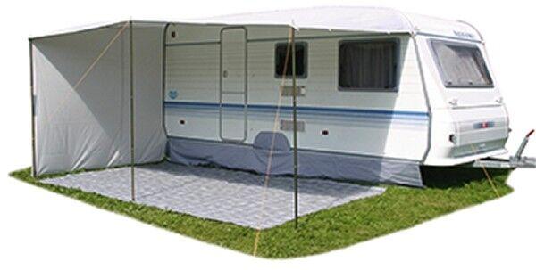 Sonnendach Vordach mit Seitenwand für für für Umlaufmaß 820-860 cm Tiefe 240cm Wohnwagen a75a89