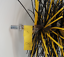 thumbnail 4 - CFC051 250mm/10 inch dia Black/Yellow Polypropylene PRO Flue Brush 200mm long