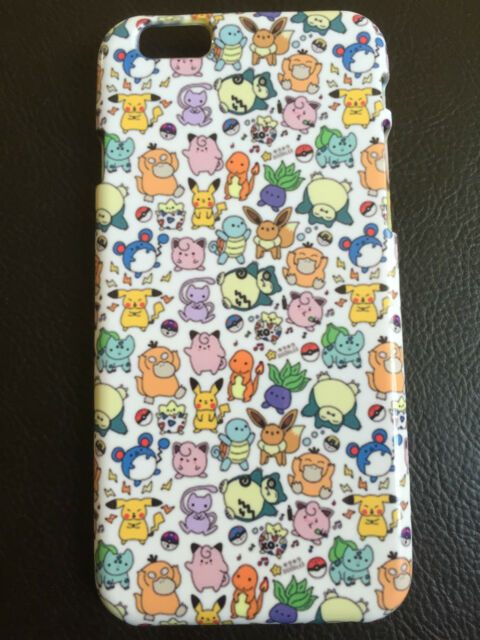 Pokemon Pikachu Hard Phone Case - iPhone 5 5s 6 Samsung Galaxy S4 S5 S6 S6 Edge