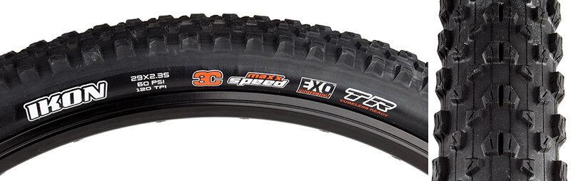 Maxxis Ikon 3c exo tr Tire Max Ikon 29x2.35 Bk Fold 120 3c EXO tr