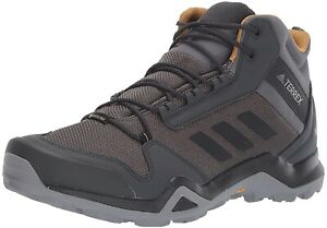 Adidas Men's Terrex AX3 Mid GTX Gore-Tex Trail Hiking Shoes Boots Waterproof  13