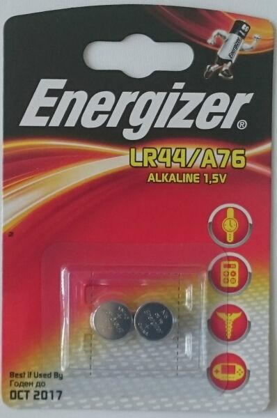 2 X Energizer Lr44 Ag13 A76 1.5v Alkaline Batteries Taille Und Sehnen StäRken