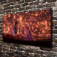 Disney Tangled Posters HD Canvas Print Paintings Home Decor Wall Art Pictures