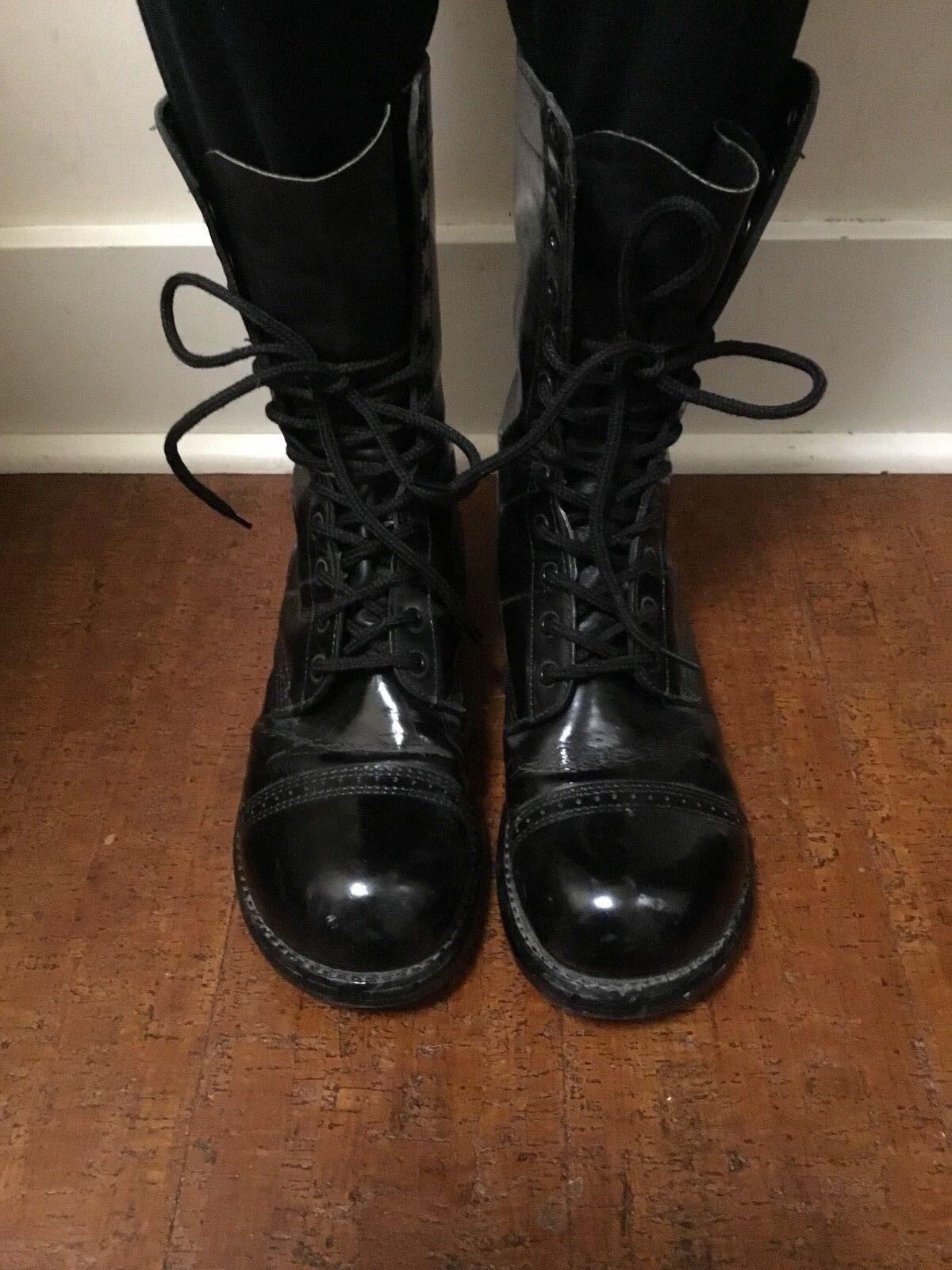 a4a9ddc7d15 CORCORAN 1500 Jump Boots Black 10 10 10 Inch 12 Eyelet - Mens 9.5E ...