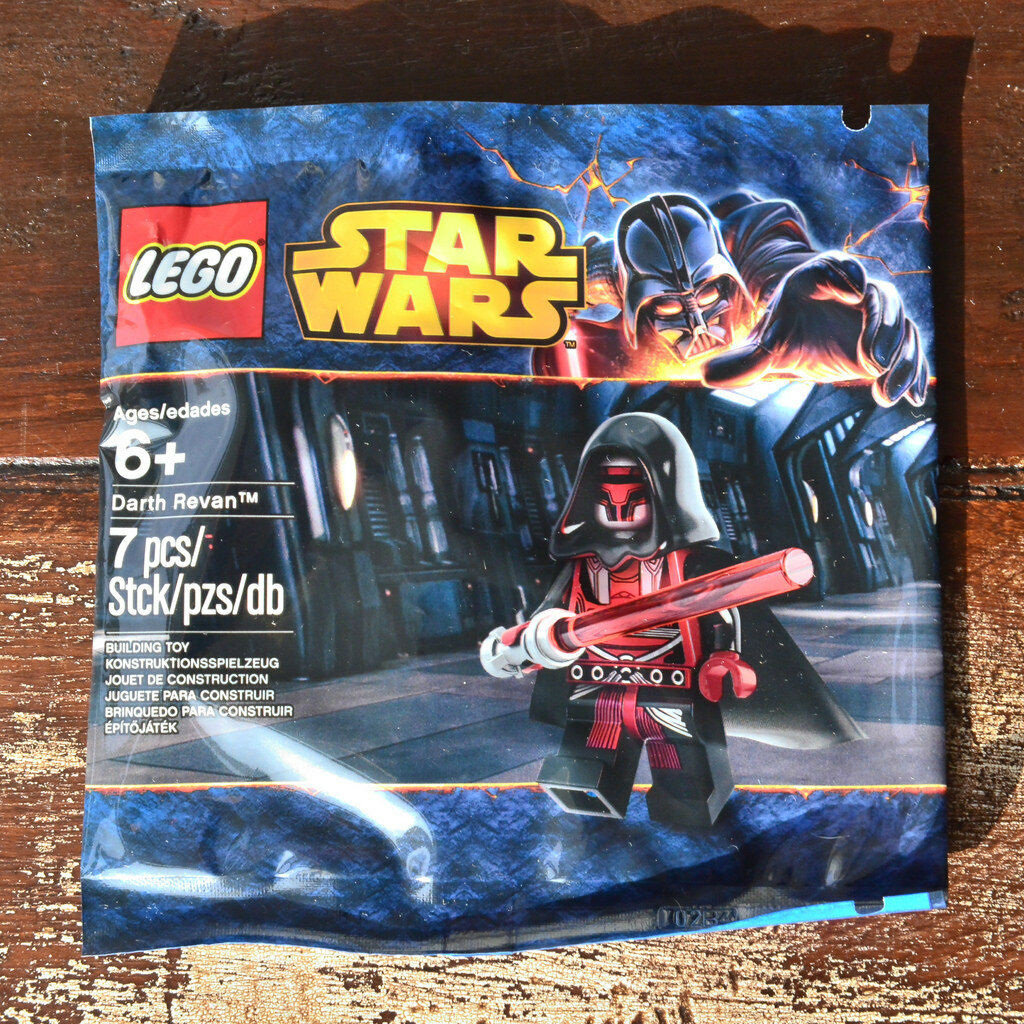 Genuine Genuine Genuine LEGO Darth Revan Minifigure - Sealed Polybag 69214c