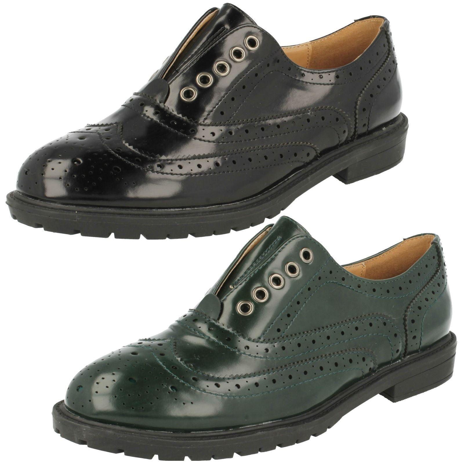 Mujer REBAJAS Spot On Zapato Oxford  zapatos  Estilo Estilo  f9869 9d022e