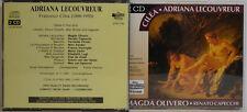CILEA - ADRIANA LECOUVREUR - OLIVERO CAPECCHI - VERNIZZI 2-CD-BOX (W138)