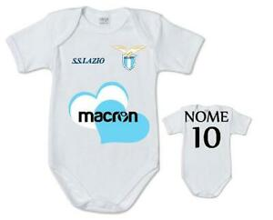 Details about Body Suit Baby Infant Currency SS Lazio Football name number Child cotton print- show original title