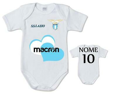 Body Suit Baby Infant Currency SS Lazio Football name number Child cotton print   eBay