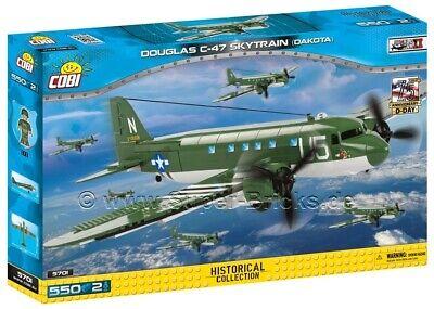 COBI-5701-550 PCS SMALL ARMY DOUGLAS C-47 SKYTRAIN
