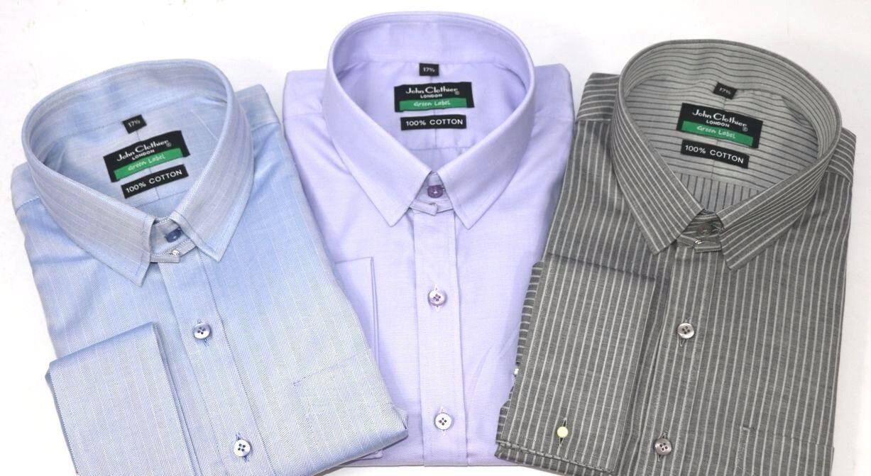 Tab Kragen Hemd Baumwolle James Bond Style Herren Fischgrätenmuster Hemden