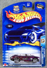 HOT WHEELS ~ WASTELANDERS ~ 1958 CORVETTE ~ PURPLE