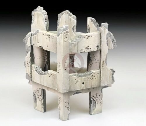 Royal Model 172 Battle Damaged Mid Orient Middle East 3Story Building Ruin 766