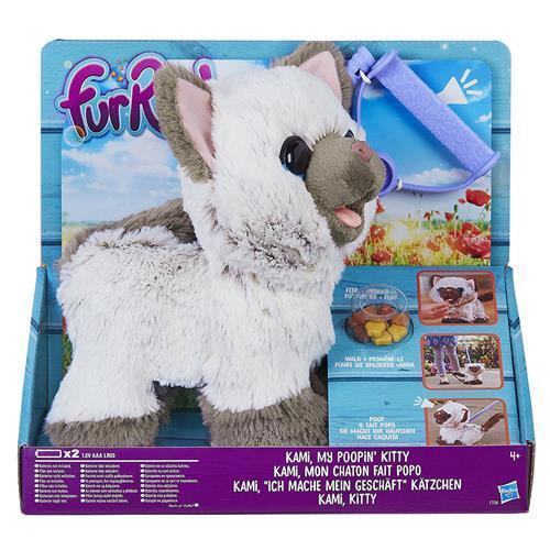 Hasbro C1156EU4 FurReal - Kami, My Poopin' Kitty