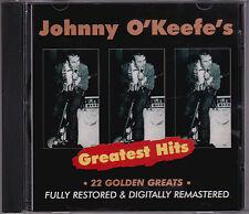 Johnny O'Keefe - Greatest Hits - CD (1997 Festival TVD91106 Australia)