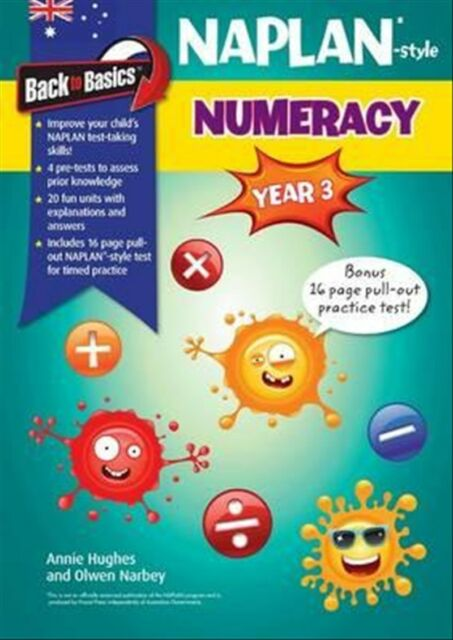 New Blake's Back to Basics - Year 3 NAPLAN-style Numeracy By Ollie Narbey