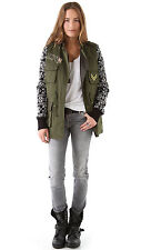 Free People Military Knit Milisa Jacket by April May Army Blazer Coat NWT $690 S
